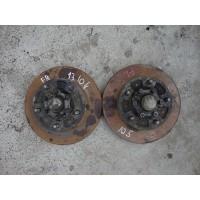 13-105 Диск тормозной передний c фланцем